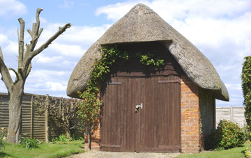 repair thatched garage roofing for less